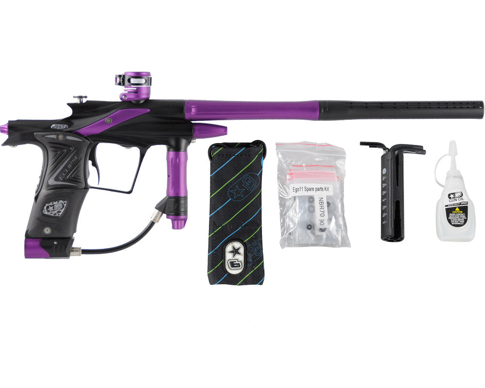 Planet Eclipse 2011 Ego Paintball Gun - Black/Electric Purple