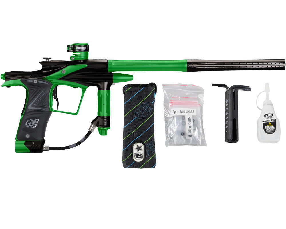Planet Eclipse 2011 Ego Paintball Gun - Black/Lime