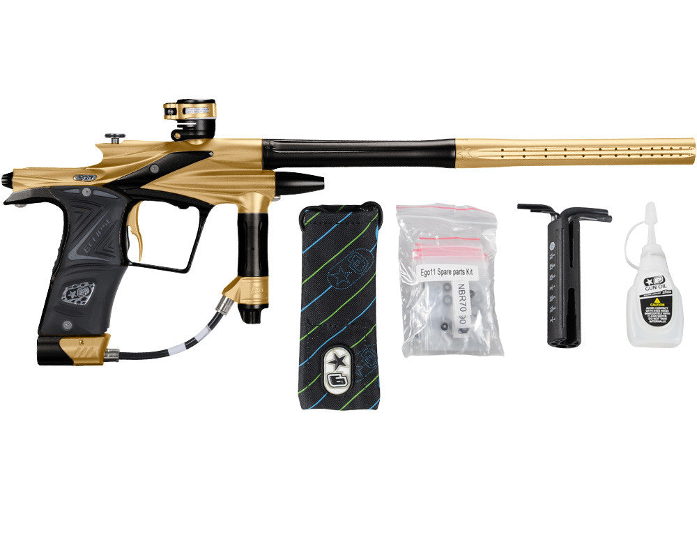 Planet Eclipse 2011 Ego Paintball Gun - Gold/Black