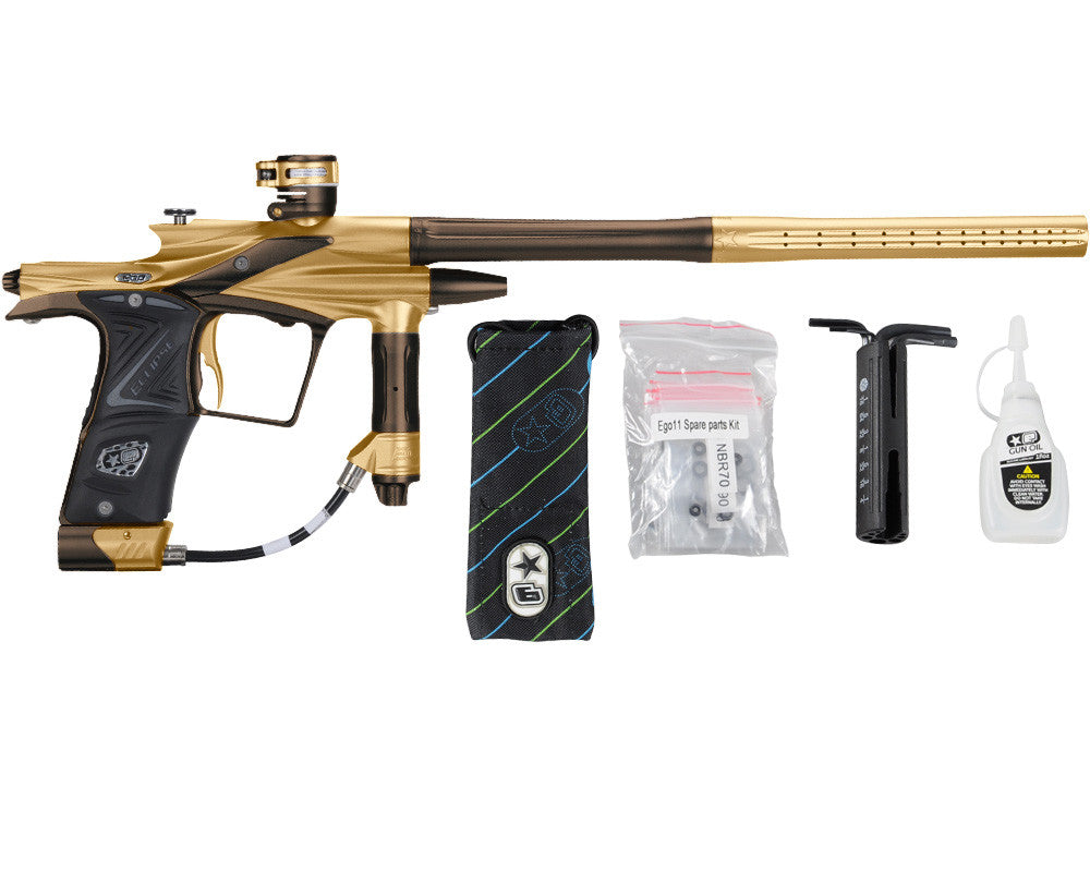 Planet Eclipse 2011 Ego Paintball Gun - Gold/Brown