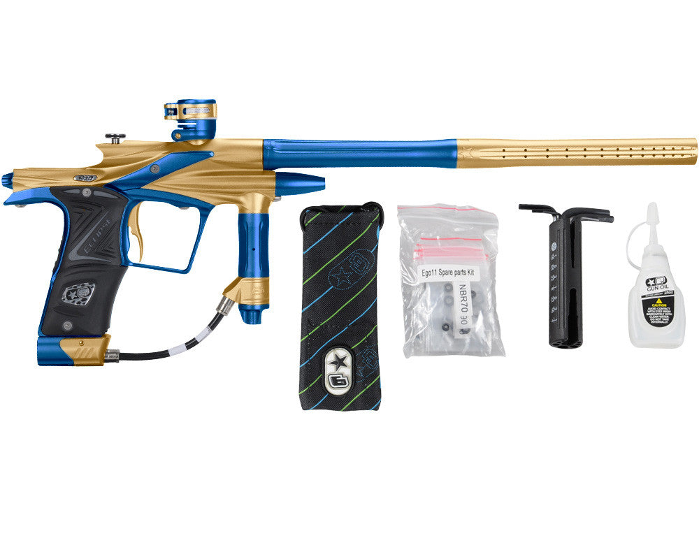 Planet Eclipse 2011 Ego Paintball Gun - Gold/Cobalt