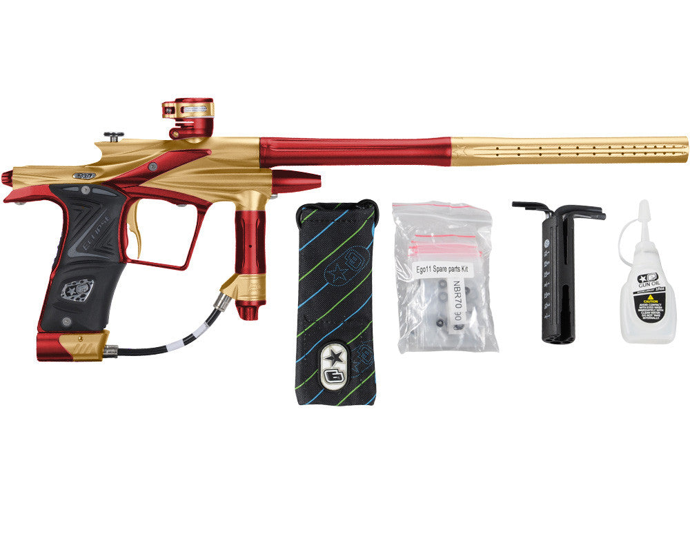 Planet Eclipse 2011 Ego Paintball Gun - Gold/Dark Lava