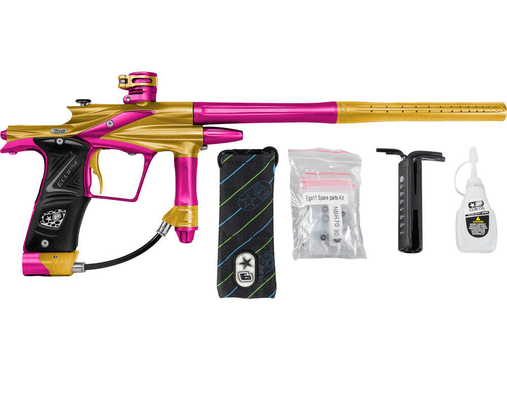 Planet Eclipse 2011 Ego Paintball Gun - Gold/Dust Pink