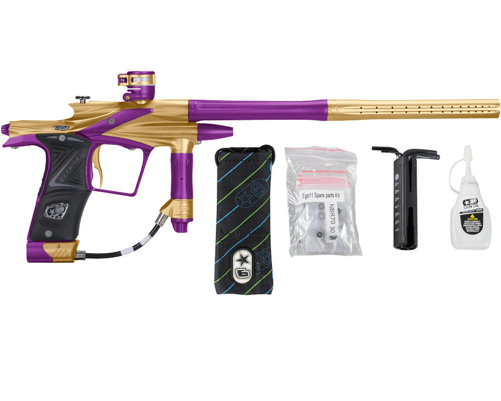 Planet Eclipse 2011 Ego Paintball Gun - Gold/Electric Purple