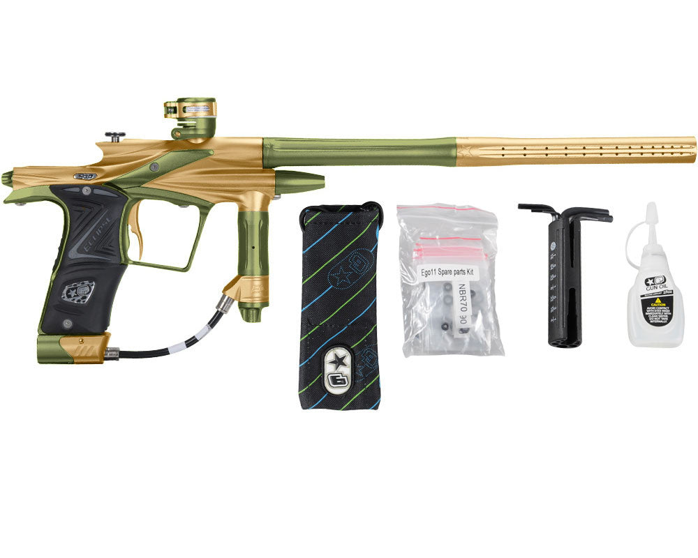 Planet Eclipse 2011 Ego Paintball Gun - Gold/Olive