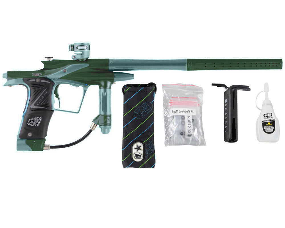 Planet Eclipse 2011 Ego Paintball Gun - Green/Aqua