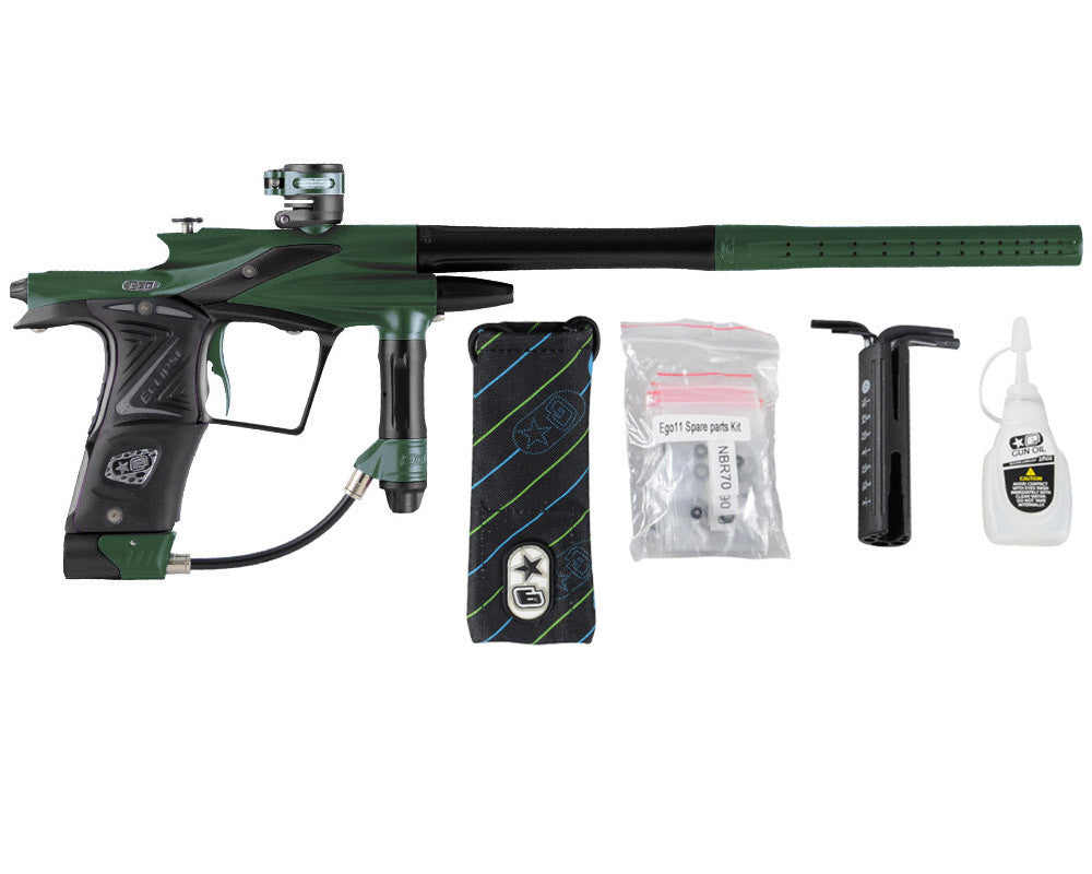 Planet Eclipse 2011 Ego Paintball Gun - Green/Black