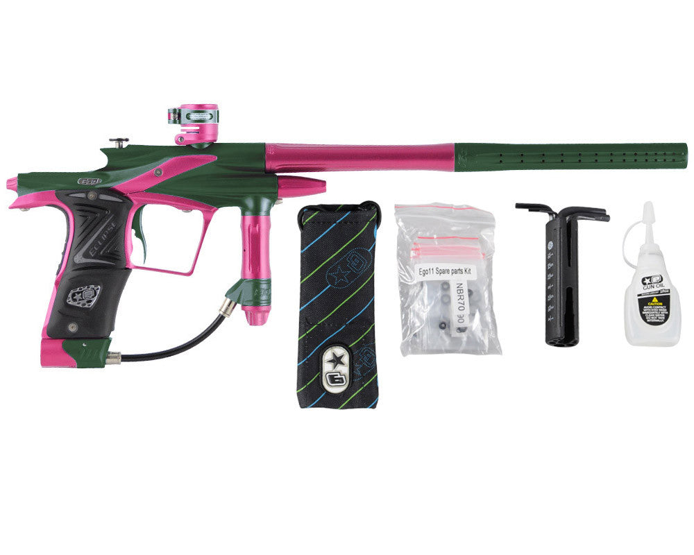 Planet Eclipse 2011 Ego Paintball Gun - Green/Dust Pink
