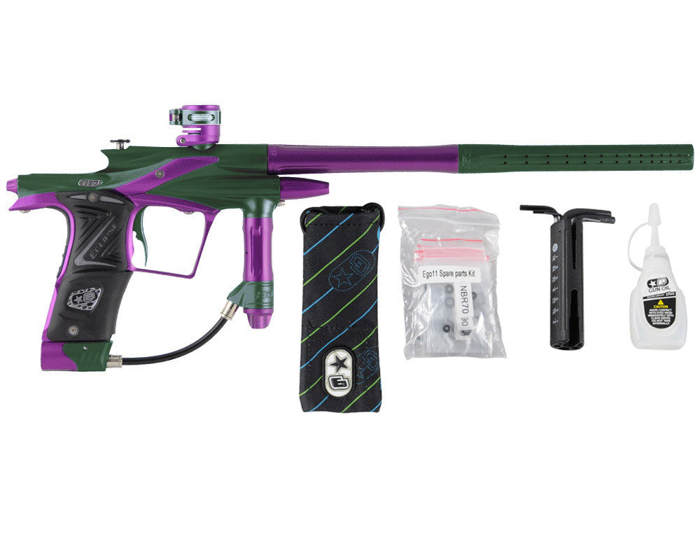 Planet Eclipse 2011 Ego Paintball Gun - Green/Electric Purple