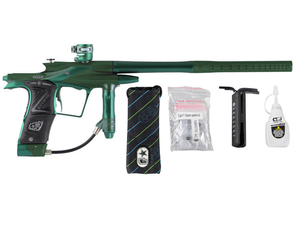 Planet Eclipse 2011 Ego Paintball Gun - Green/Forest Green