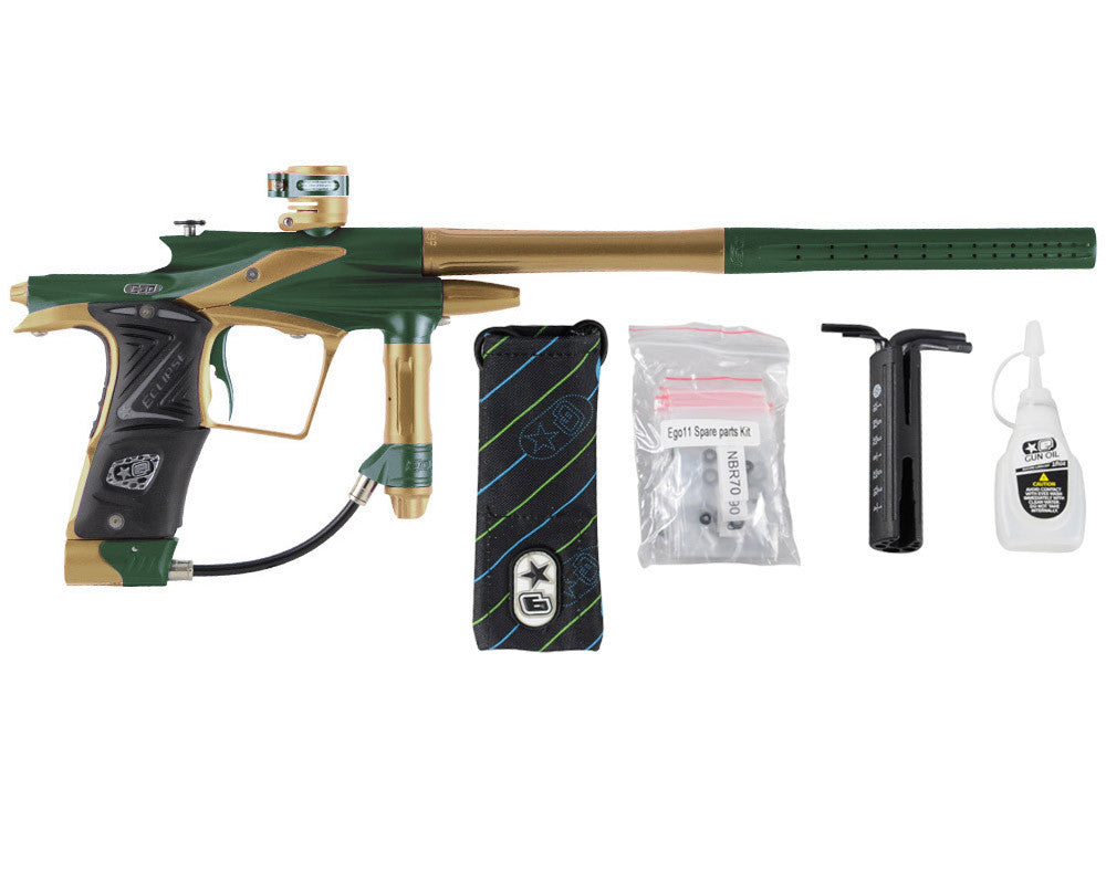 Planet Eclipse 2011 Ego Paintball Gun - Green/Gold