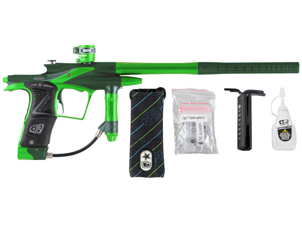 Planet Eclipse 2011 Ego Paintball Gun - Green/Lime