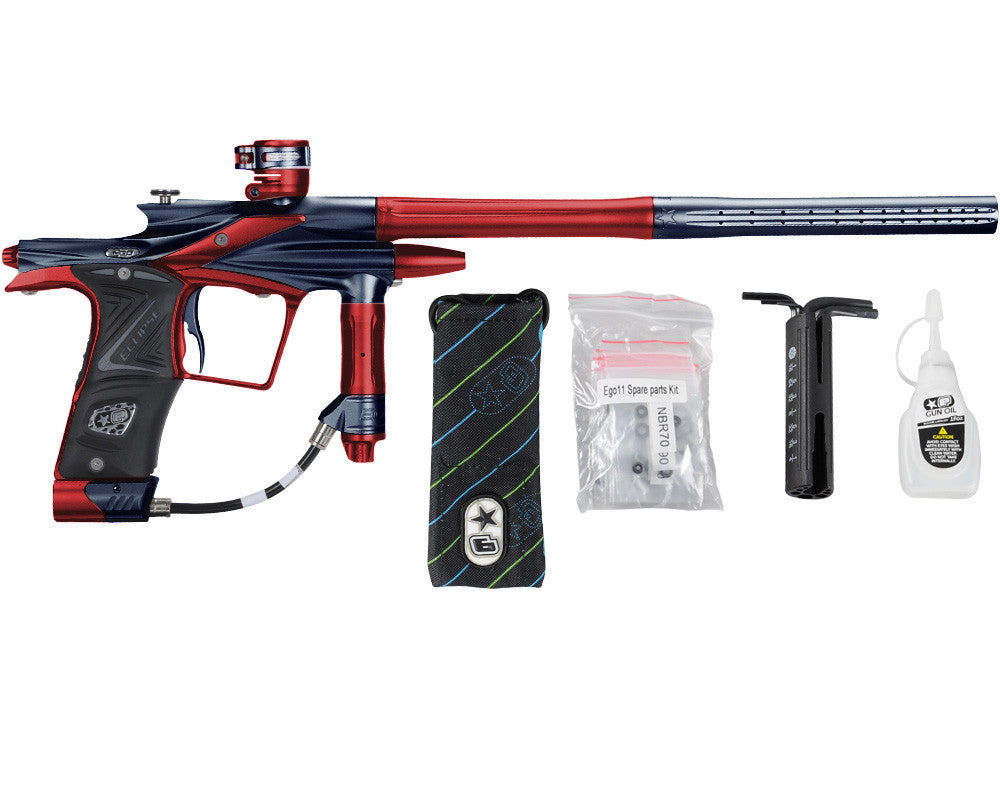 Planet Eclipse 2011 Ego Paintball Gun - Navy Blue/Dark Lava