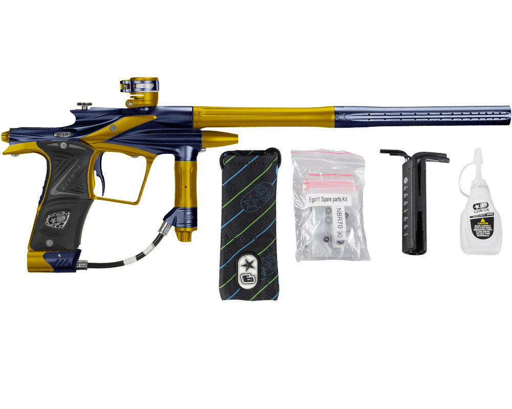 Planet Eclipse 2011 Ego Paintball Gun - Navy Blue/Gold