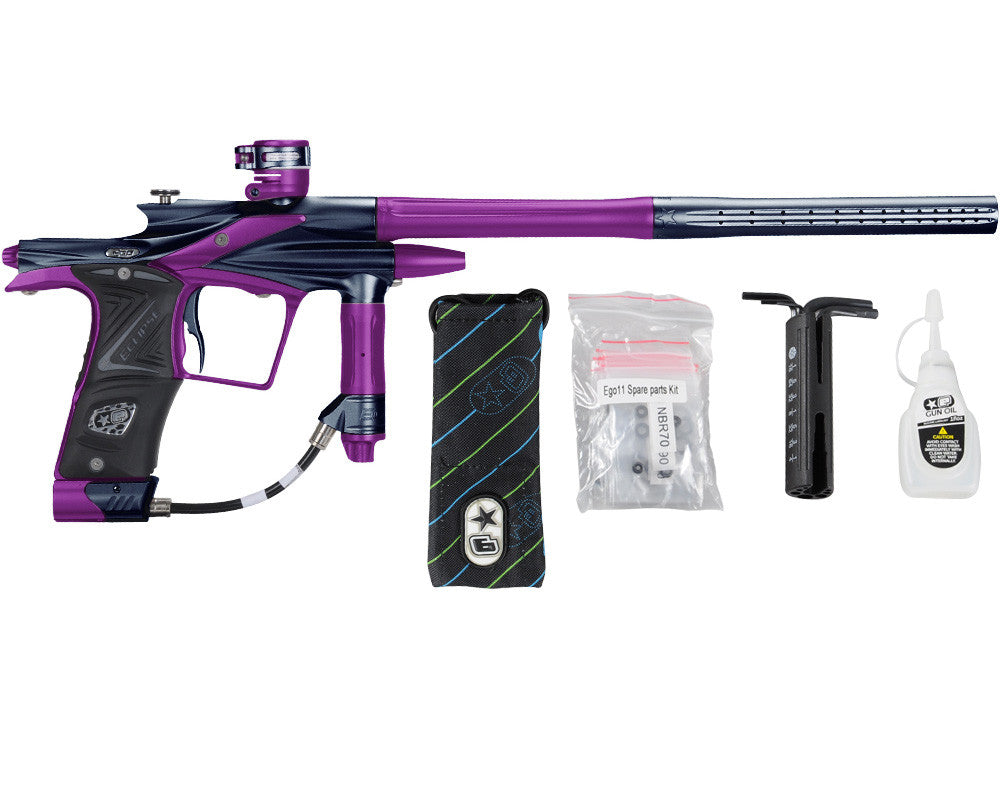Planet Eclipse 2011 Ego Paintball Gun - Navy Blue/Electric Purple