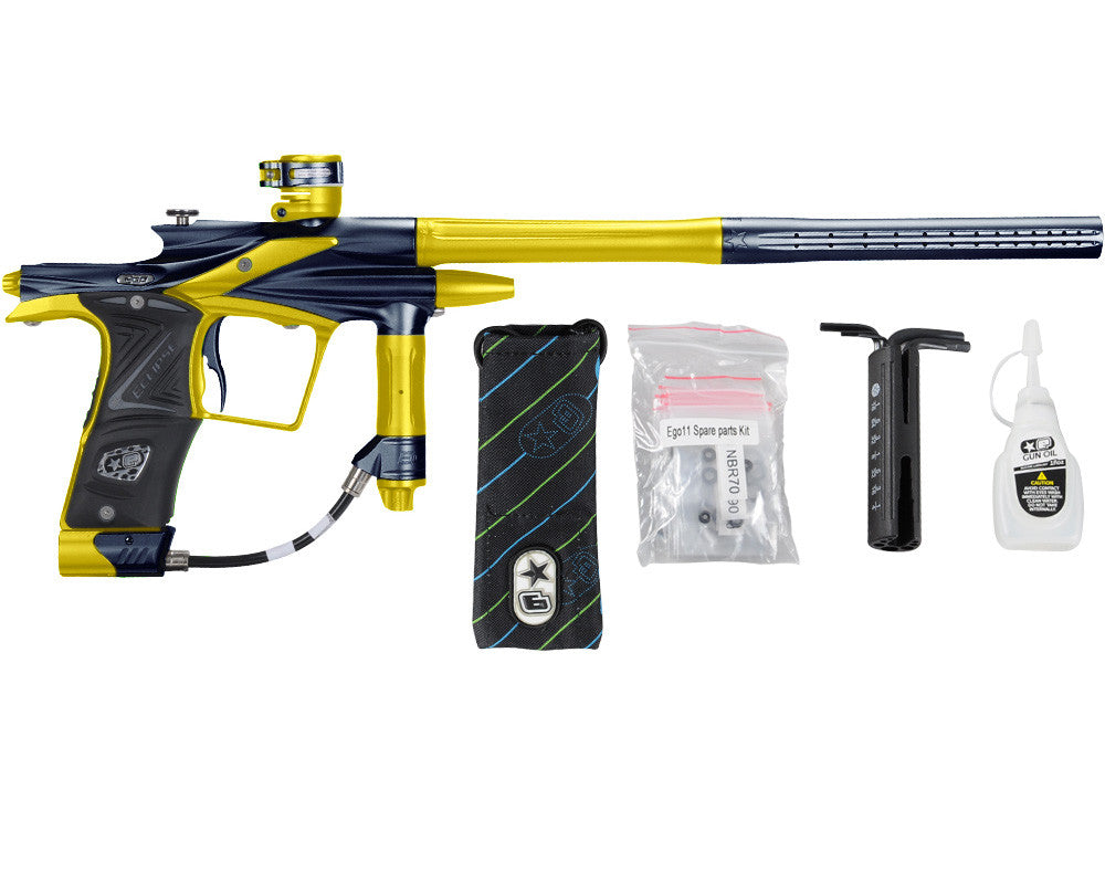 Planet Eclipse 2011 Ego Paintball Gun - Navy Blue/Dust Yellow