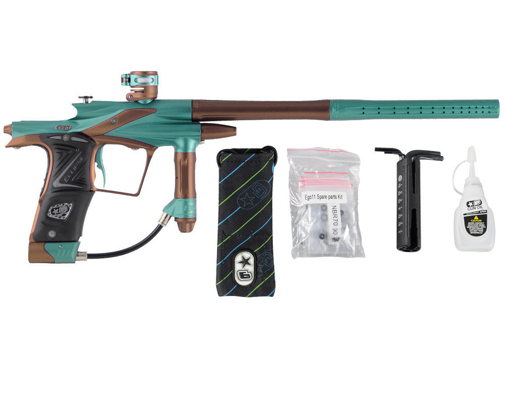 Planet Eclipse 2011 Ego Paintball Gun - Ocean/Brown
