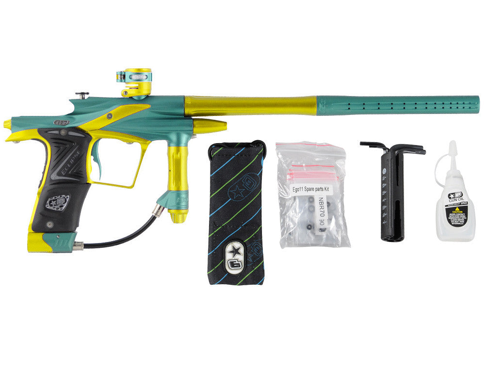 Planet Eclipse 2011 Ego Paintball Gun - Ocean/Dust Yellow