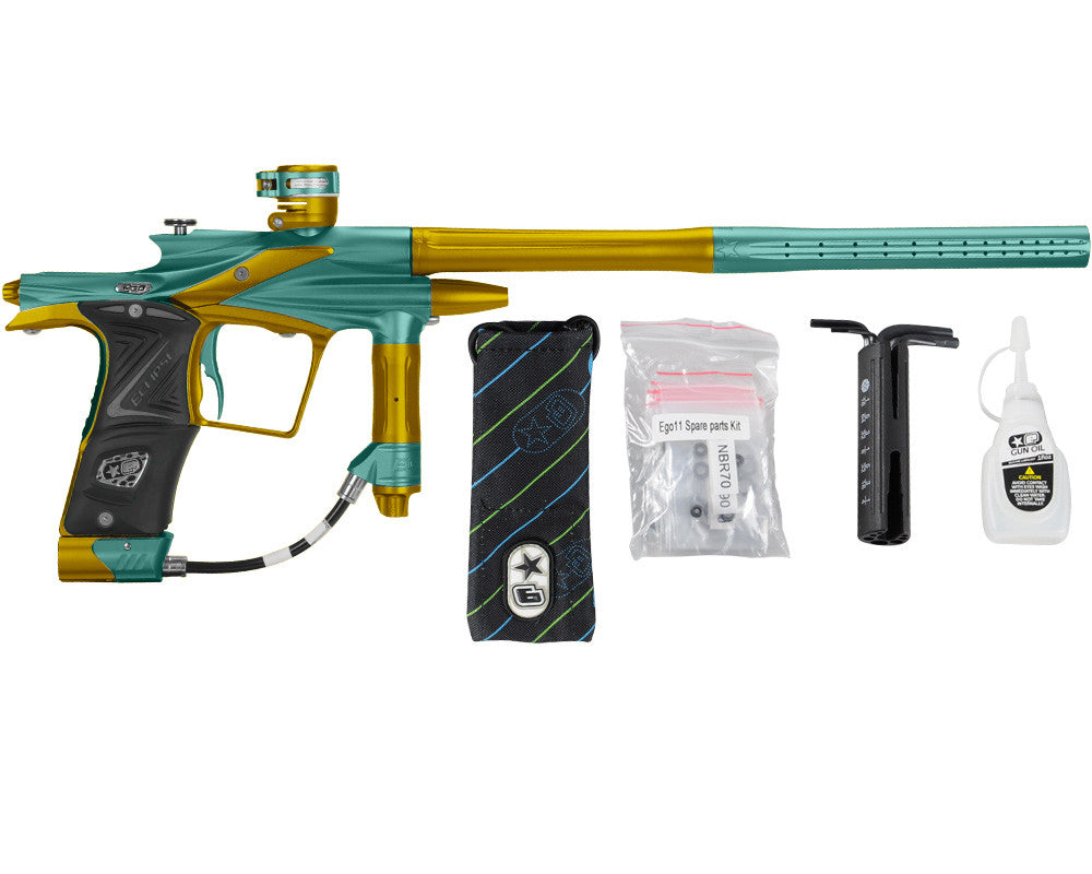 Planet Eclipse 2011 Ego Paintball Gun - Ocean/Gold