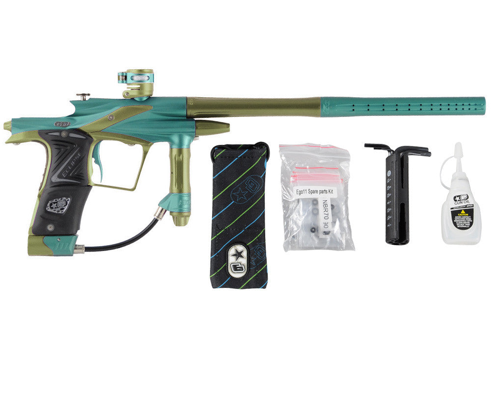 Planet Eclipse 2011 Ego Paintball Gun - Ocean/Olive