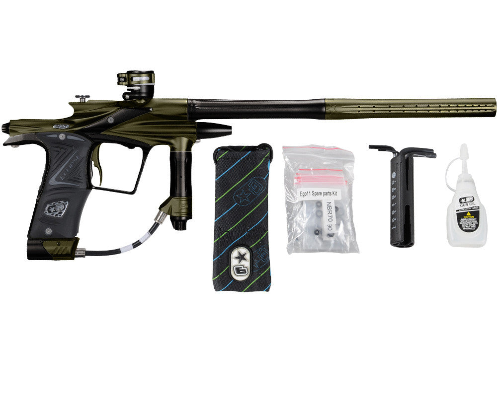 Planet Eclipse 2011 Ego Paintball Gun - Olive/Black