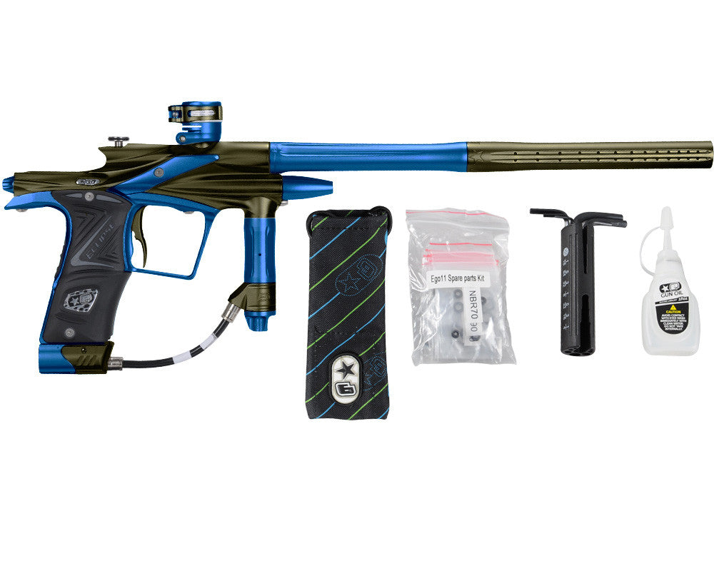 Planet Eclipse 2011 Ego Paintball Gun - Olive/Cobalt