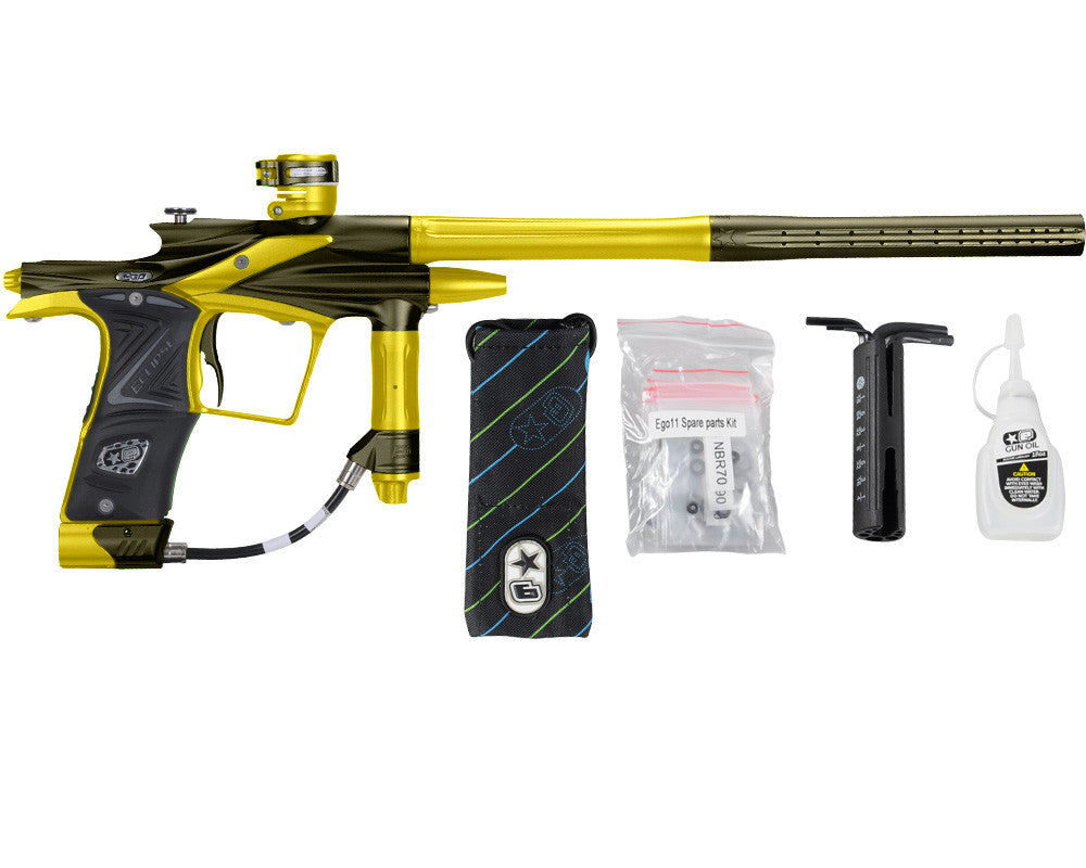 Planet Eclipse 2011 Ego Paintball Gun - Olive/Dust Yellow