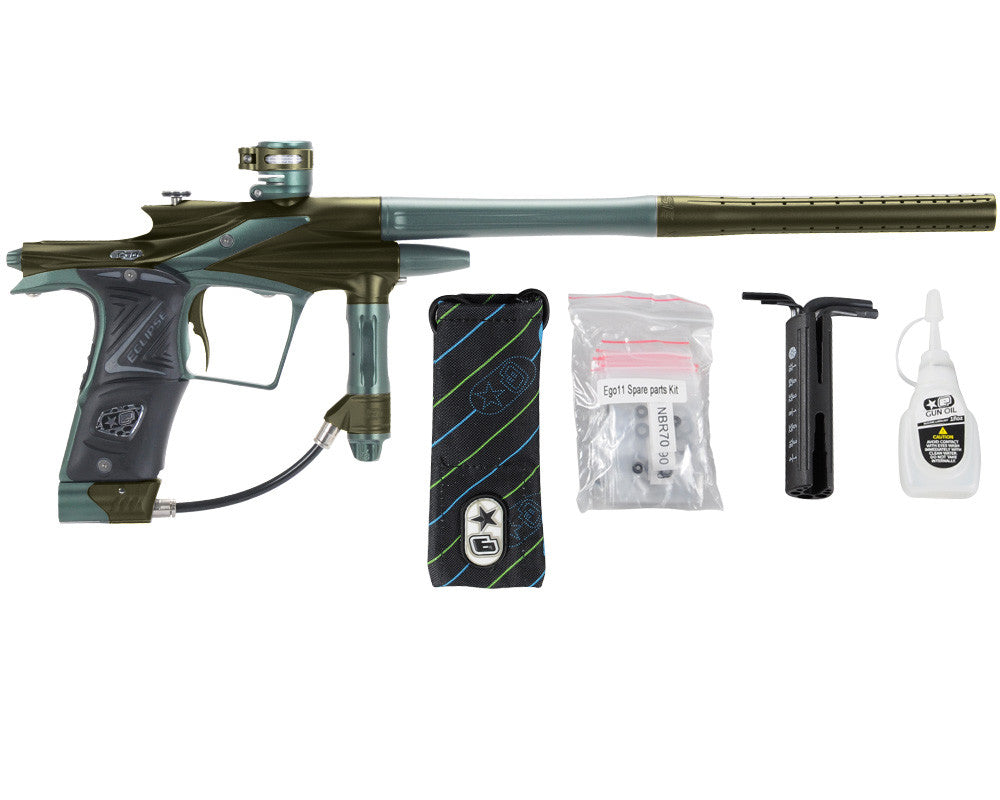Planet Eclipse 2011 Ego Paintball Gun - Olive/Forest Green