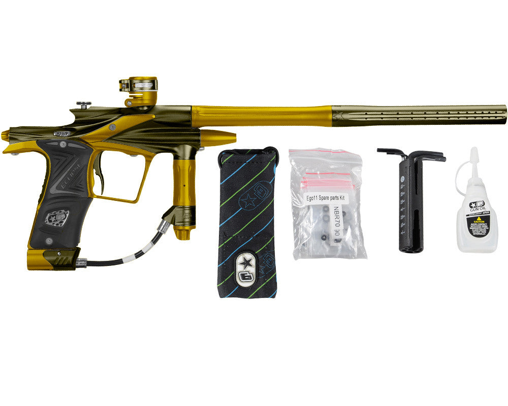 Planet Eclipse 2011 Ego Paintball Gun - Olive/Gold