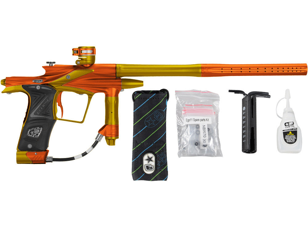 Planet Eclipse 2011 Ego Paintball Gun - Orange/Gold