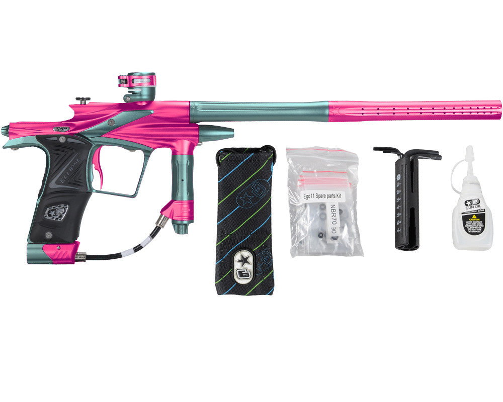 Planet Eclipse 2011 Ego Paintball Gun - Pink/Aqua