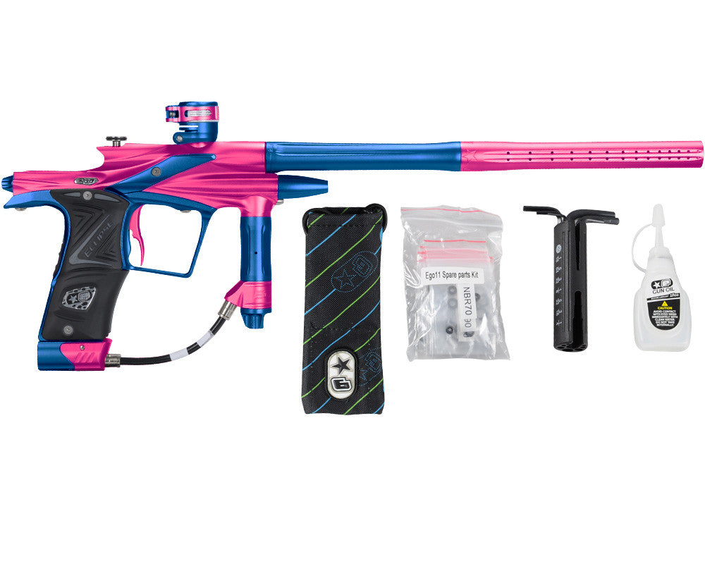 Planet Eclipse 2011 Ego Paintball Gun - Pink/Cobalt