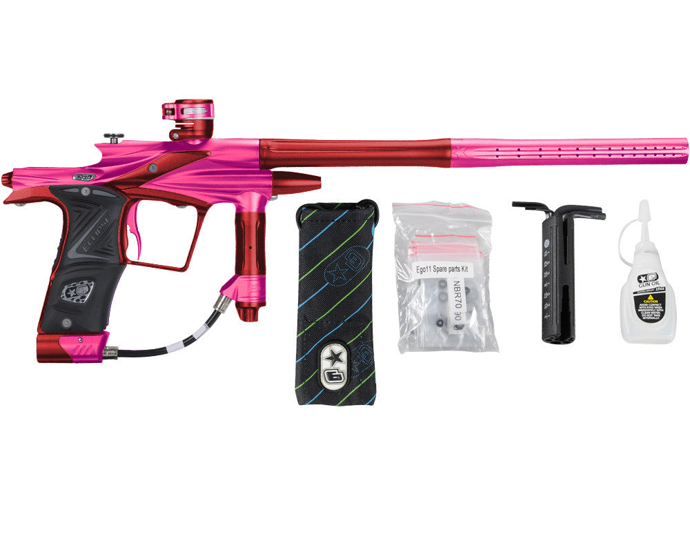 Planet Eclipse 2011 Ego Paintball Gun - Pink/Dark Lava