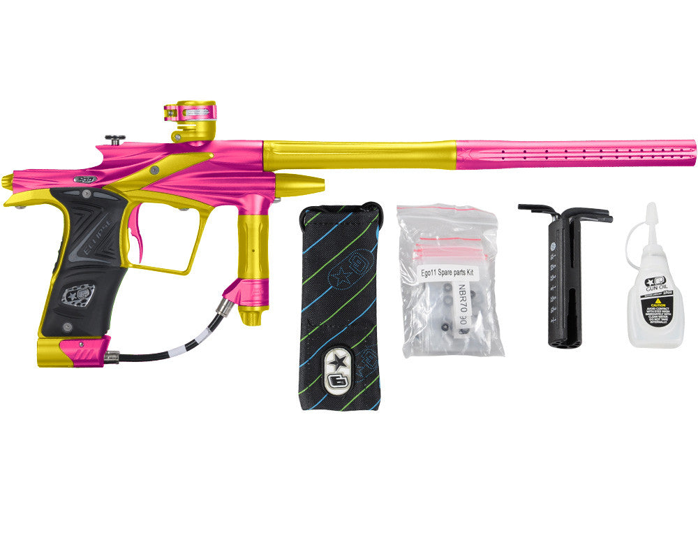 Planet Eclipse 2011 Ego Paintball Gun - Pink/Dust Yellow