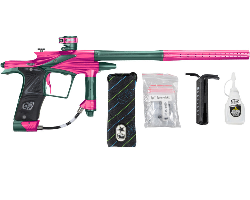 Planet Eclipse 2011 Ego Paintball Gun - Pink/Forest Green