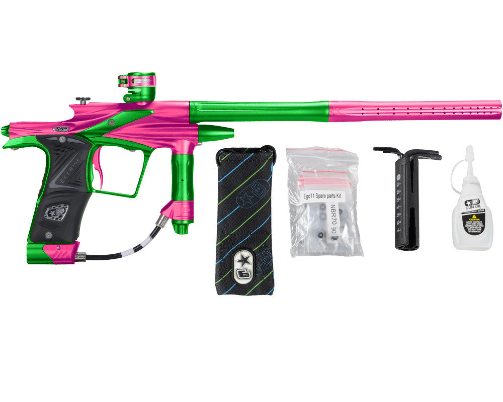 Planet Eclipse 2011 Ego Paintball Gun - Pink/Lime