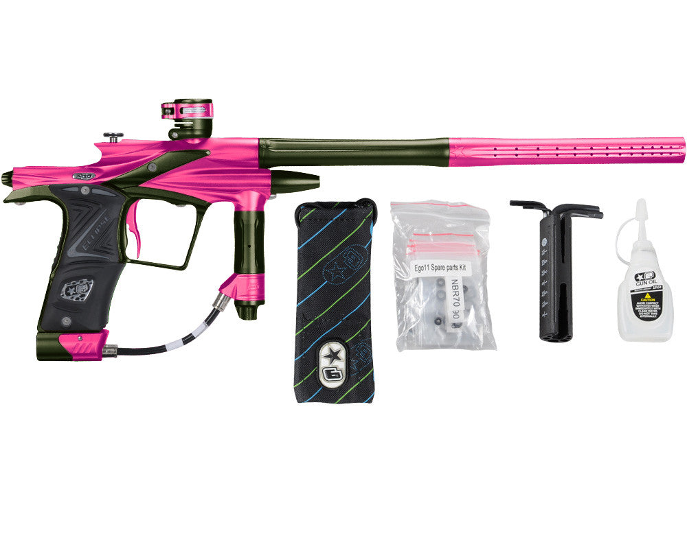 Planet Eclipse 2011 Ego Paintball Gun - Pink/Olive