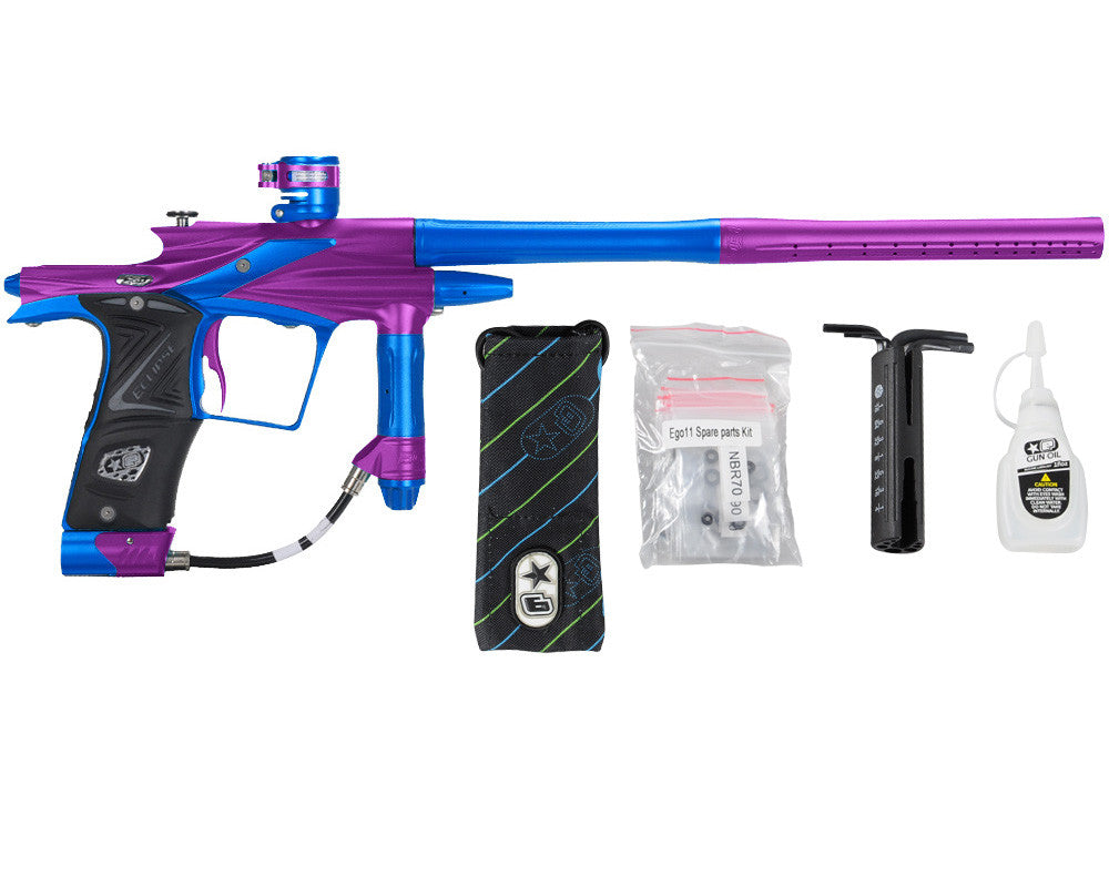 Planet Eclipse 2011 Ego Paintball Gun - Purple/Cobalt