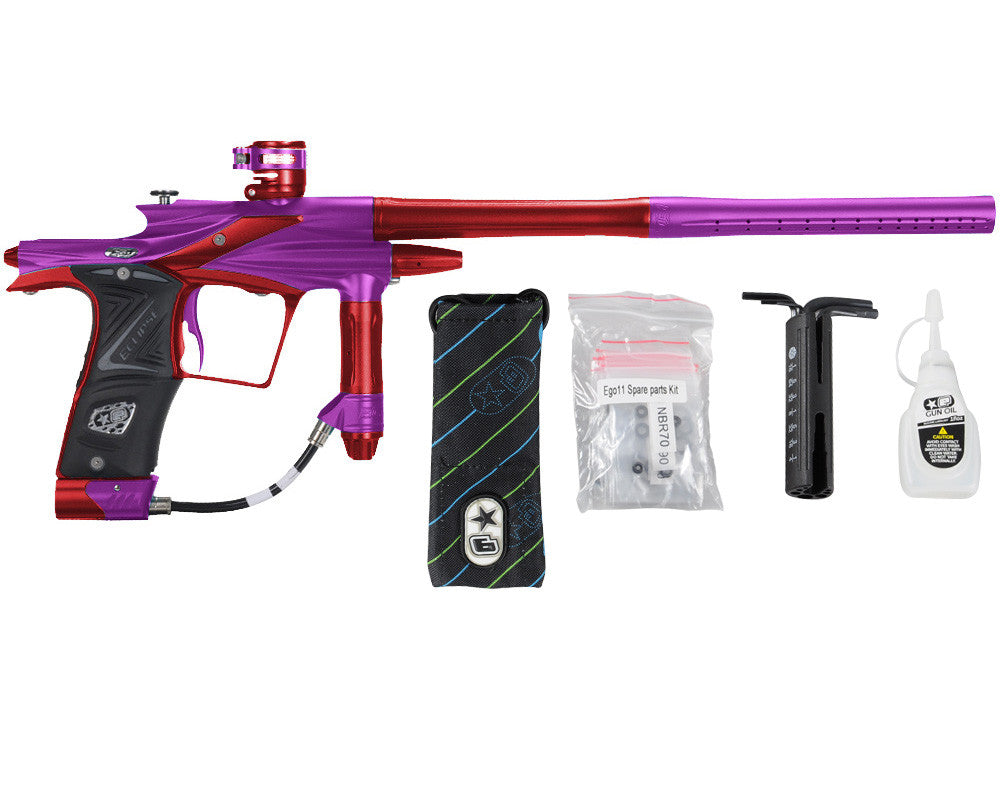 Planet Eclipse 2011 Ego Paintball Gun - Purple/Dark Lava