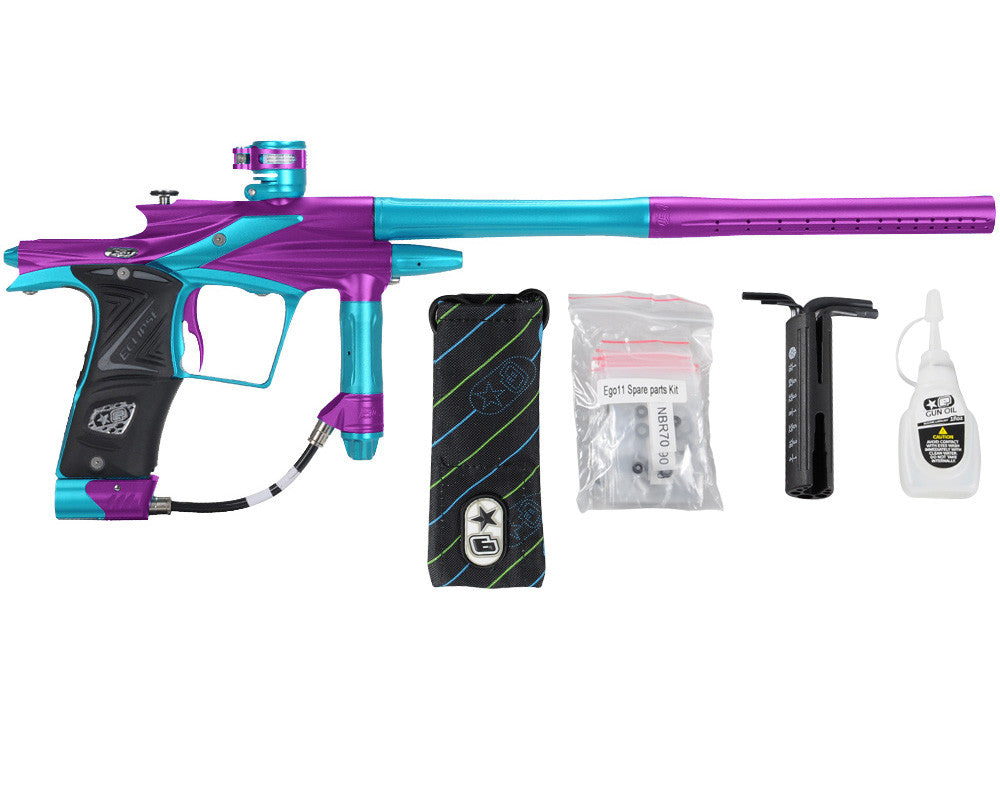 Planet Eclipse 2011 Ego Paintball Gun - Purple/Dust Teal