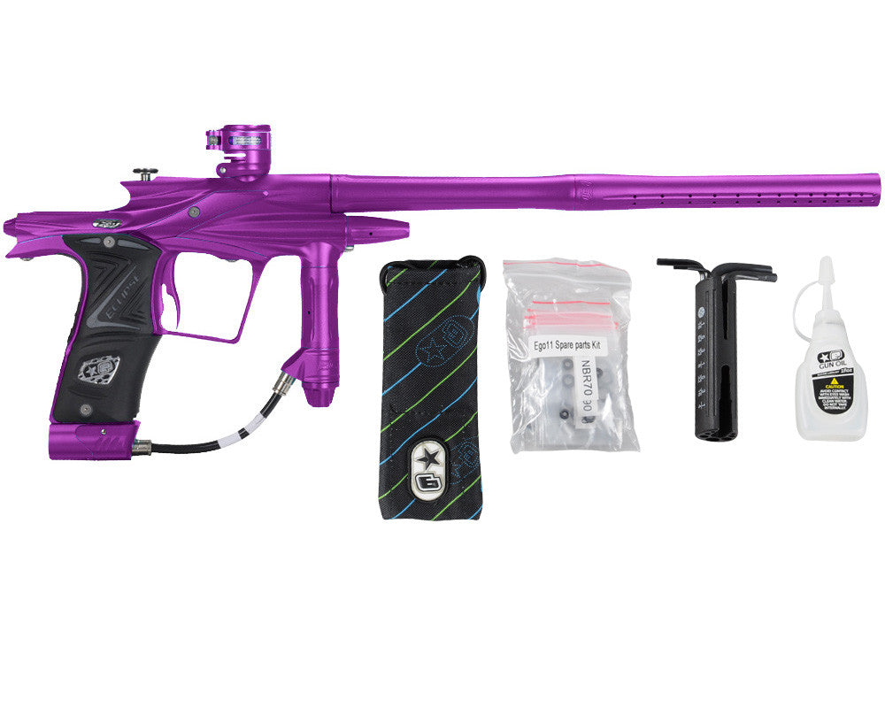 Planet Eclipse 2011 Ego Paintball Gun - Purple/Electric Purple