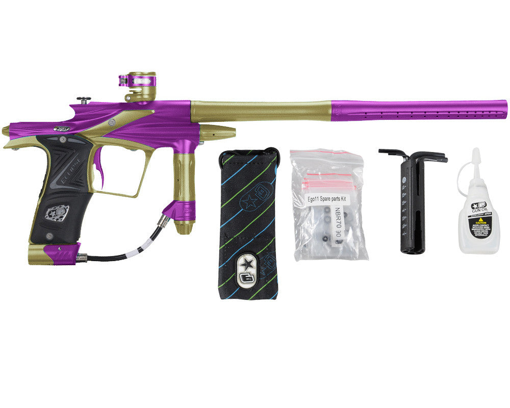 Planet Eclipse 2011 Ego Paintball Gun - Purple/Olive