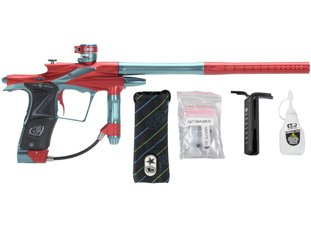 Planet Eclipse 2011 Ego Paintball Gun - Red/Aqua