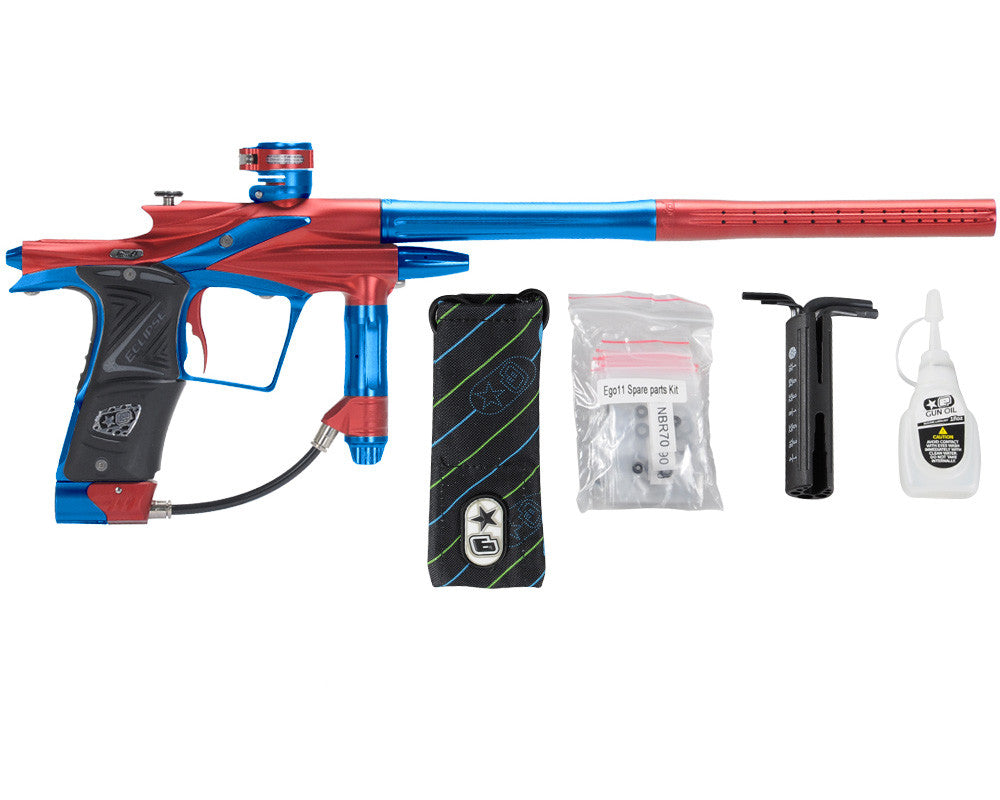 Planet Eclipse 2011 Ego Paintball Gun - Red/Cobalt