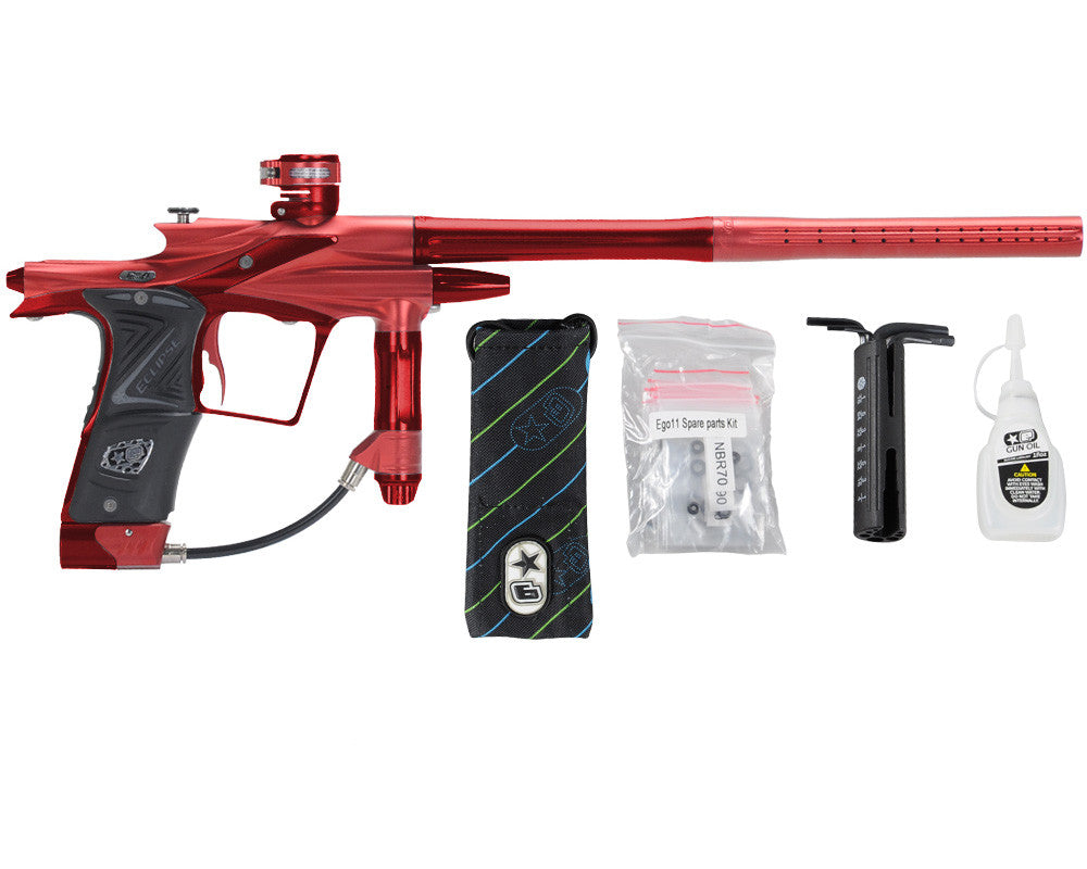 Planet Eclipse 2011 Ego Paintball Gun - Red/Dark Lava