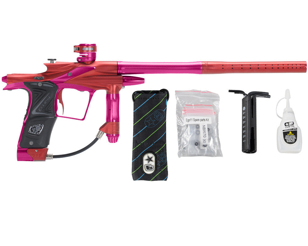 Planet Eclipse 2011 Ego Paintball Gun - Red/Dust Pink