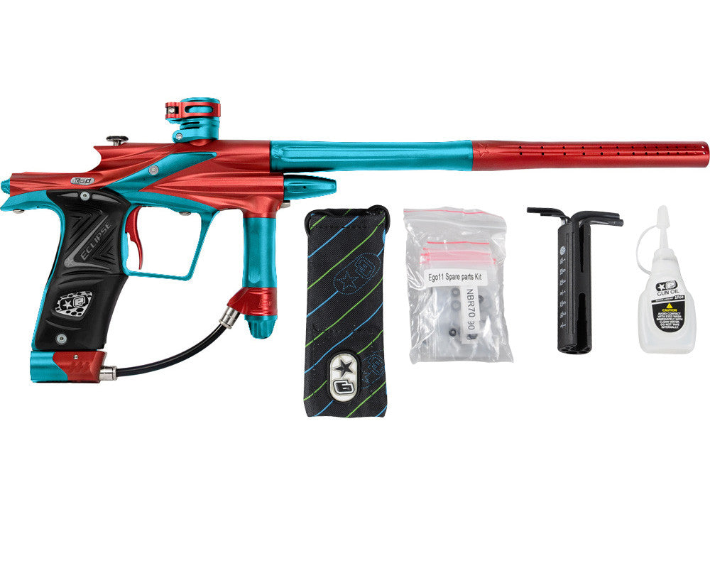Planet Eclipse 2011 Ego Paintball Gun - Red/Dust Teal