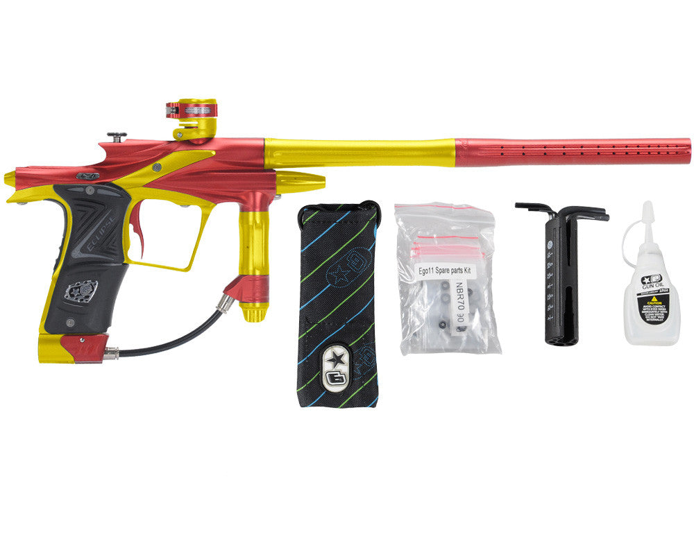 Planet Eclipse 2011 Ego Paintball Gun - Red/Dust Yellow