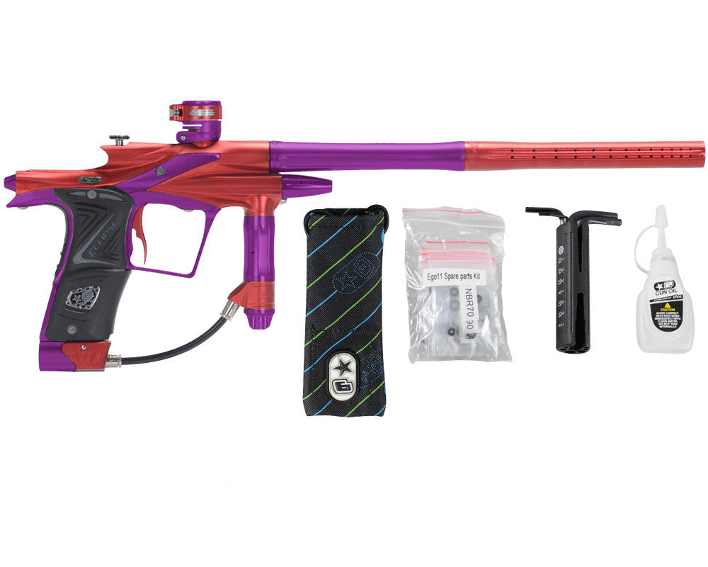 Planet Eclipse 2011 Ego Paintball Gun - Red/Electric Purple