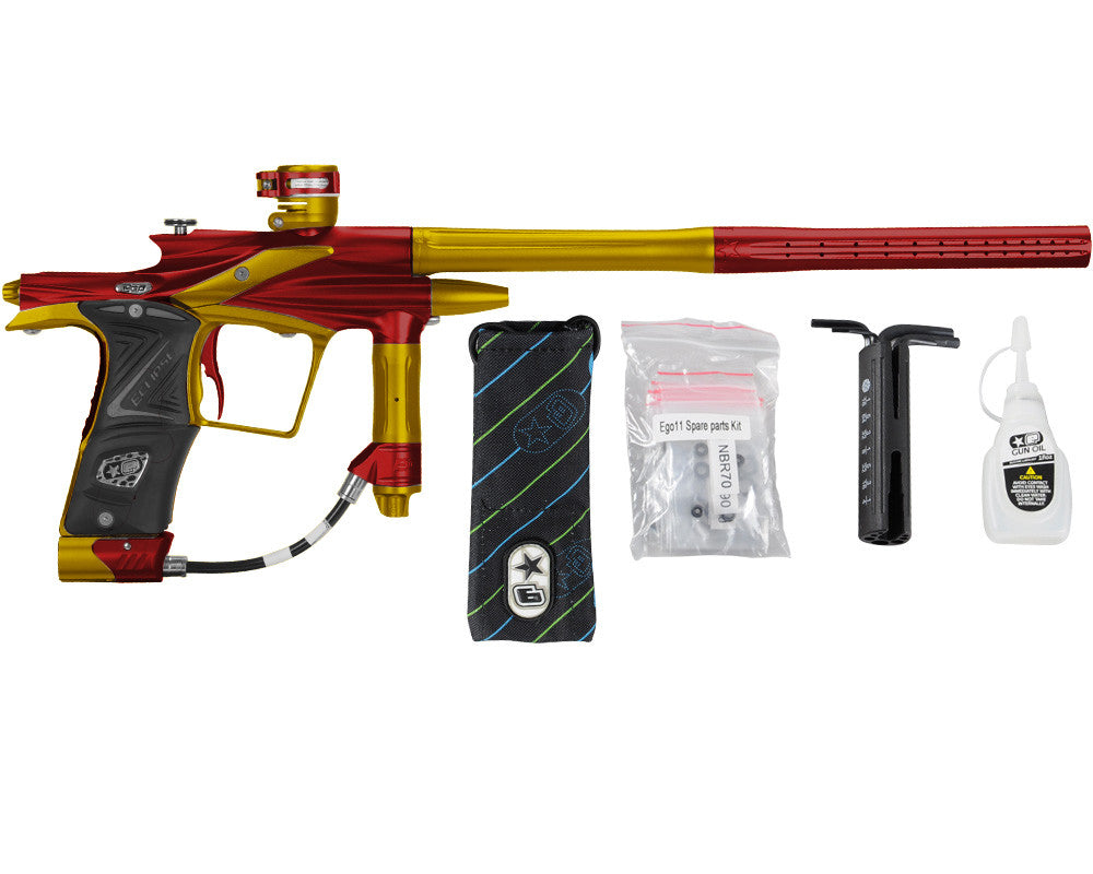 Planet Eclipse 2011 Ego Paintball Gun - Red/Gold